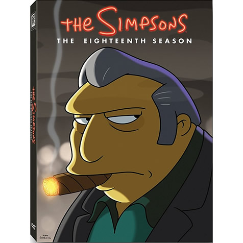 The Simpsons - The Complete Season 18 DVD (for NZ Buyers)
