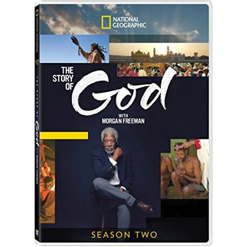 The Story Of God With Morgan Freeman - The Complete Season 2 DVD (for NZ Buyers)