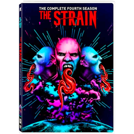 The Strain - The Complete Season 4 DVD (for NZ Buyers)