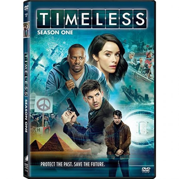 Timeless - The Complete Season 1 DVD (for NZ Buyers)