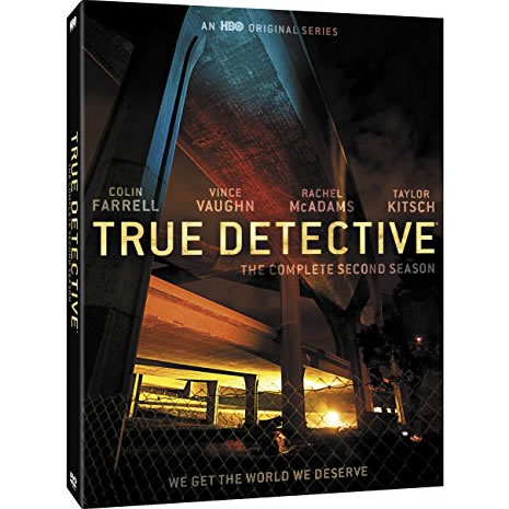 True Detective - The Complete Season 2 DVD (for NZ Buyers)