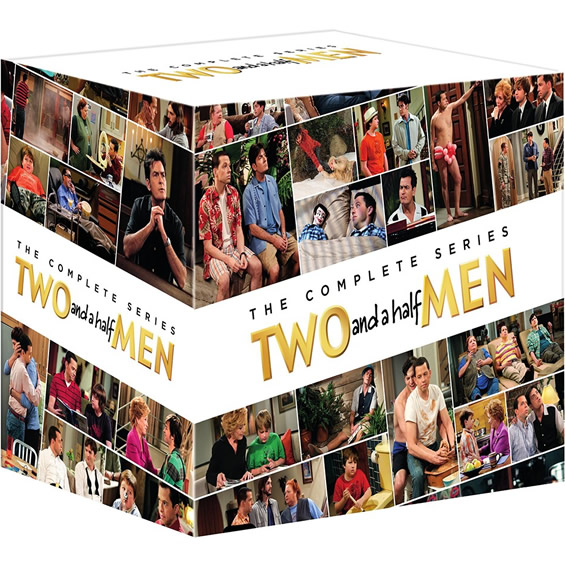 Two and a Half Men - The Complete Series (for NZ Buyers)