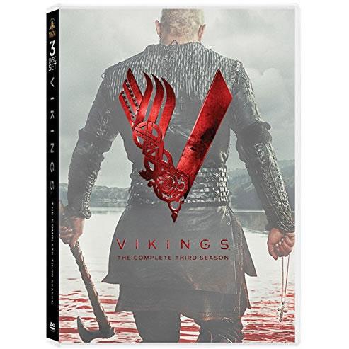 Vikings - The Complete Season 3 DVD (for NZ Buyers)