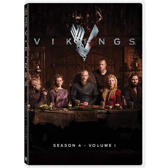 Vikings - The Complete Season 4 Part 1 DVD (for NZ Buyers)
