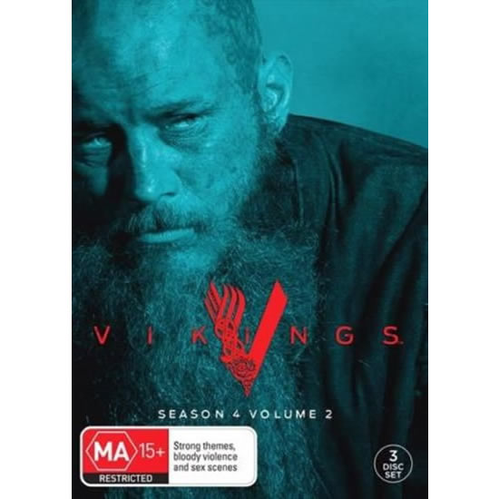 Vikings - The Complete Season 4 Part 2 DVD (for NZ Buyers)