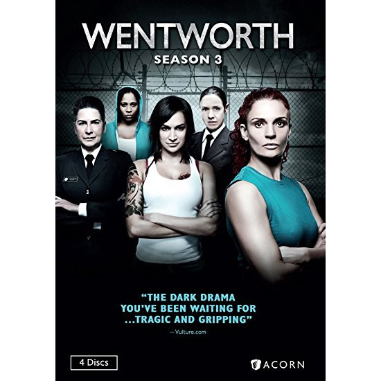 Wentworth - The Complete Season 3 DVD (for NZ Buyers)