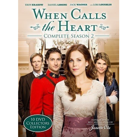 When Calls The Heart - The Complete Season 2 DVD (for NZ Buyers)
