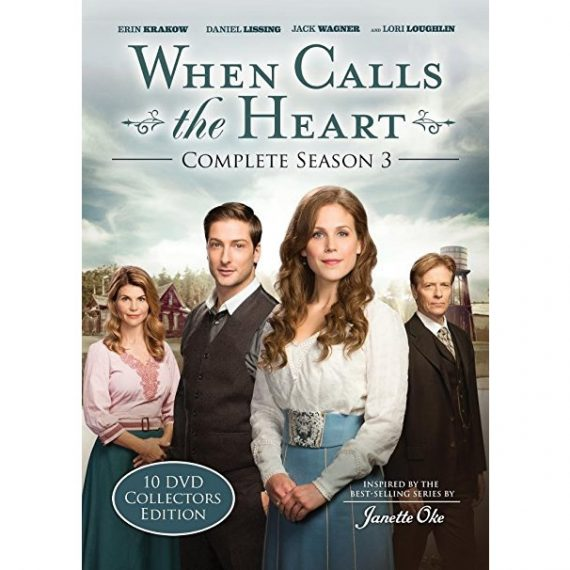 When Calls The Heart - The Complete Season 3 DVD (for NZ Buyers)