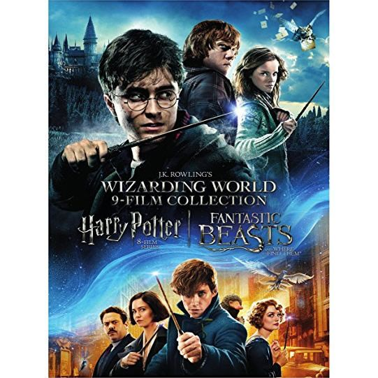 Wizarding World 9-Film Collection DVD (for NZ Buyers)