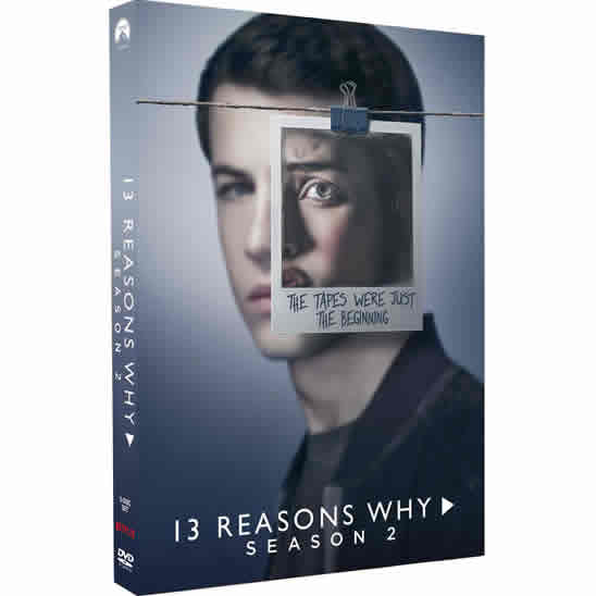13 Reasons Why - The Complete Season 2 DVD (for NZ Buyers)