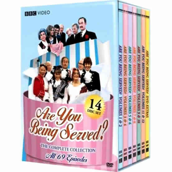 Are You Being Served - The Complete Series (for NZ Buyers)