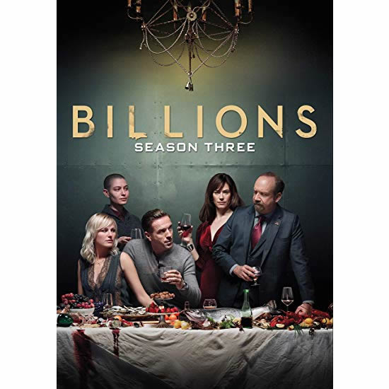 Billions - The Complete Season 3 DVD (for NZ Buyers)
