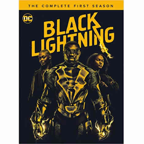 Black Lightning - The Complete Season 1 DVD (for NZ Buyers)