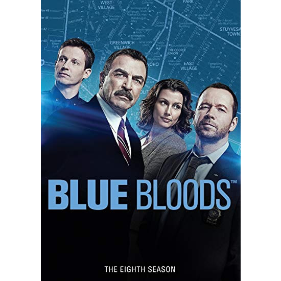 Blue Bloods - The Complete Season 8 DVD (for NZ Buyers)