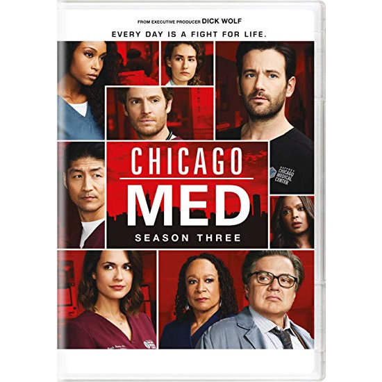 Chicago Med - The Complete Season 3 DVD (for NZ Buyers)