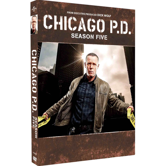 Chicago PD - The Complete Season 5 DVD (for NZ Buyers)