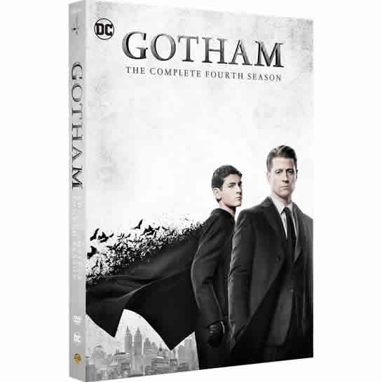 Gotham - The Complete Season 4 DVD (for NZ Buyers)