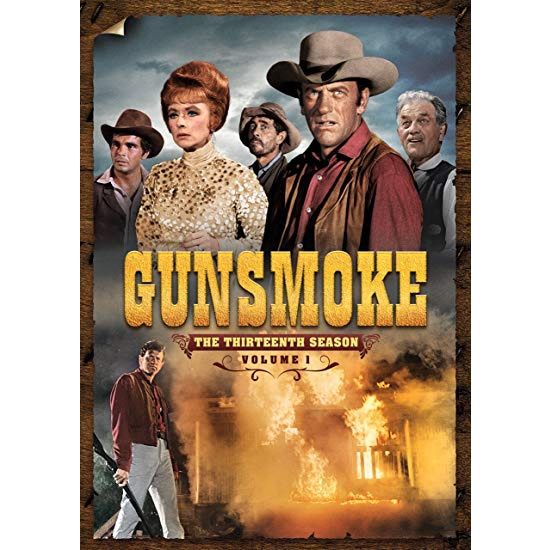 Gunsmoke - The Complete Season 1 Vol. 1 DVD (for NZ Buyers)