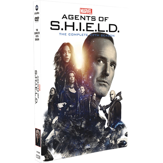 Marvel's Agents of SHIELD - The Complete Season 5 DVD (for NZ Buyers)