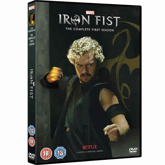 Marvel's Iron Fist - The Complete Season 1 DVD (for NZ Buyers)