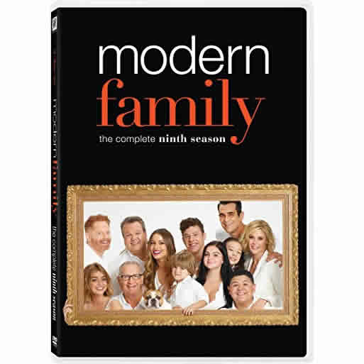 Modern Family - The Complete Season 9 DVD (for NZ Buyers)