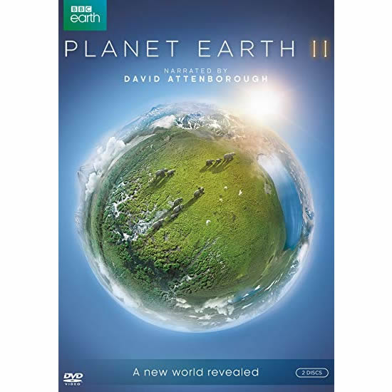 Planet Earth II - The Complete Season 2 DVD (for NZ Buyers)