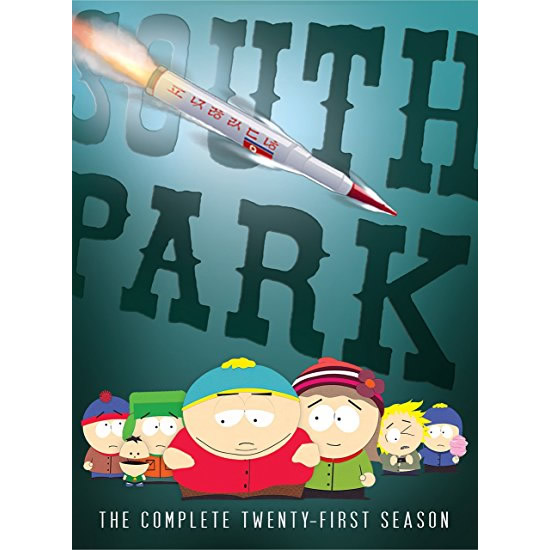 South Park - The Complete Season 21 DVD (for NZ Buyers)
