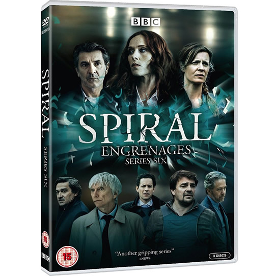 Spiral - The Complete Season 6 DVD (for NZ Buyers)