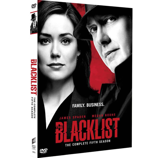 The Blacklist - The Complete Season 5 DVD (for NZ Buyers)
