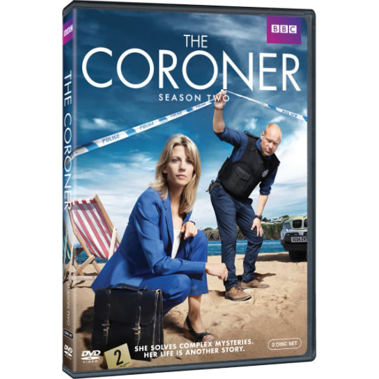 The Coroner - The Complete Season 2 DVD (for NZ Buyers)