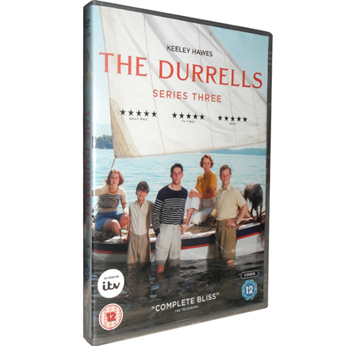 The Durrells - The Complete Season 3 DVD (for NZ Buyers)