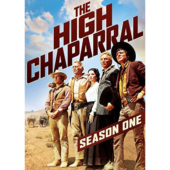 The High Chaparral - The Complete Season 1 DVD (for NZ Buyers)