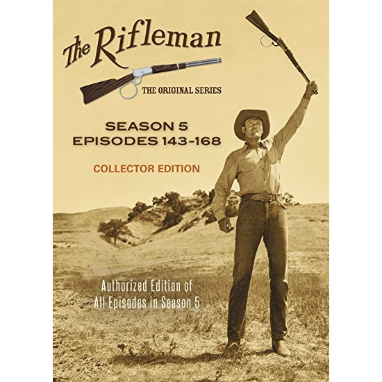 The Rifleman Collector Edition - The Complete Season 5 DVD (for NZ Buyers)