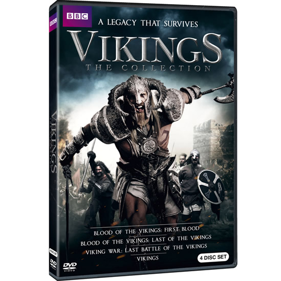 Vikings: The Collection DVD (for NZ Buyers)