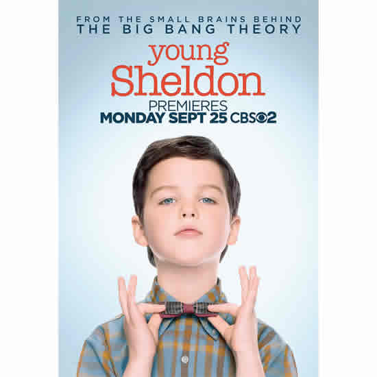 Young Sheldon - The Complete Season 1 DVD (for NZ Buyers)