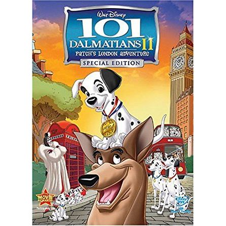 101 Dalmatians II: Patch's London Adventure: Animate DVD (for NZ Buyers)