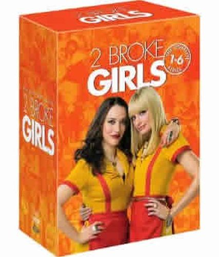2 Broke Girls: The Complete Series 1-6 (for NZ Buyers)