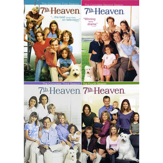7th Heaven: The Complete Series 1-4 (for NZ Buyers)