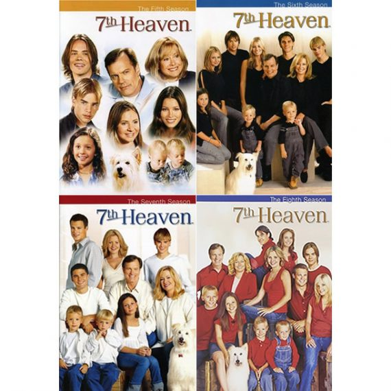 7th Heaven: The Complete Series 5-8 (for NZ Buyers)