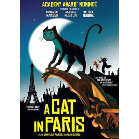 A Cat in Paris: Animate DVD (for NZ Buyers)