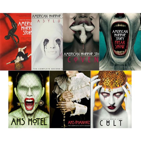 American Horror Story: The Complete Series 1-7 (for NZ Buyers)