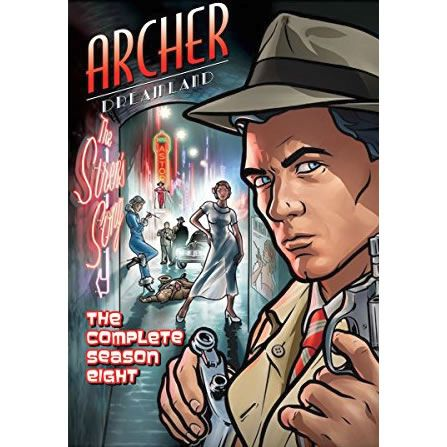 Archer Season 8 Dreamland: Animate DVD (for NZ Buyers)