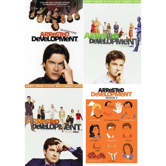 Arrested Development: The Complete Series 1-4 (for NZ Buyers)