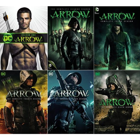 Arrow: The Complete Series 1-6 (for NZ Buyers)