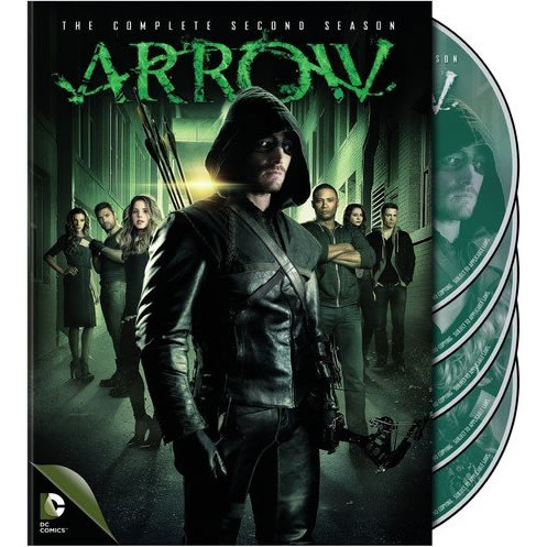 Arrow - The Complete Season 2 DVD (for NZ Buyers)