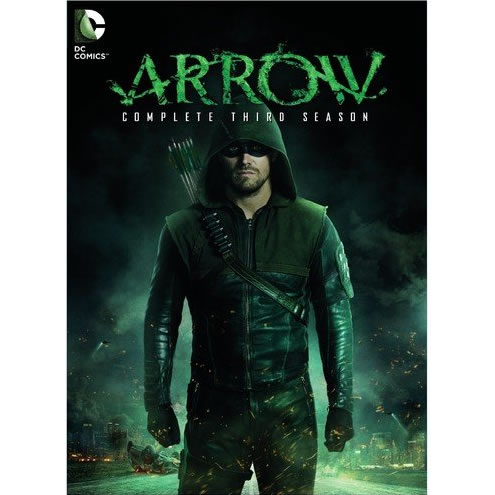 Arrow - The Complete Season 3 DVD (for NZ Buyers)