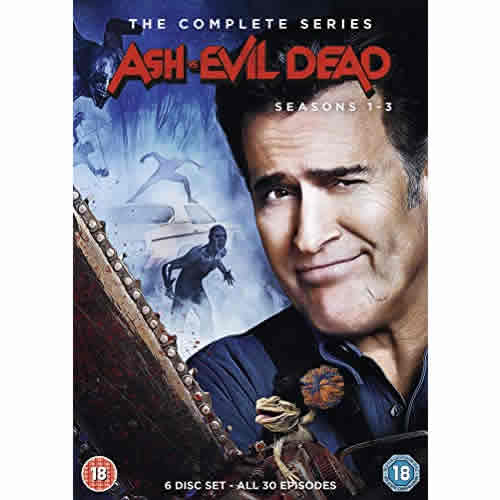 Ash vs Evil Dead: The Complete Series 1-3 (for NZ Buyers)