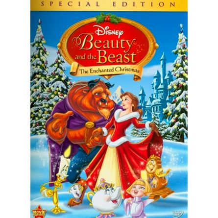 Beauty and the Beast: The Enchanted Christmas: Animate DVD (for NZ Buyers)