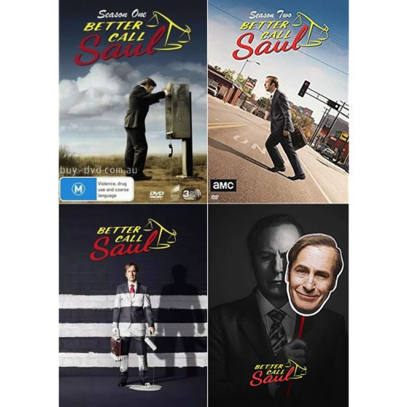 Better Call Saul: The Complete Series 1-4 (for NZ Buyers)