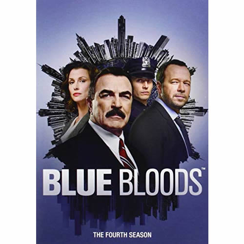 Blue Bloods - The Complete Season 4 DVD (for NZ Buyers)